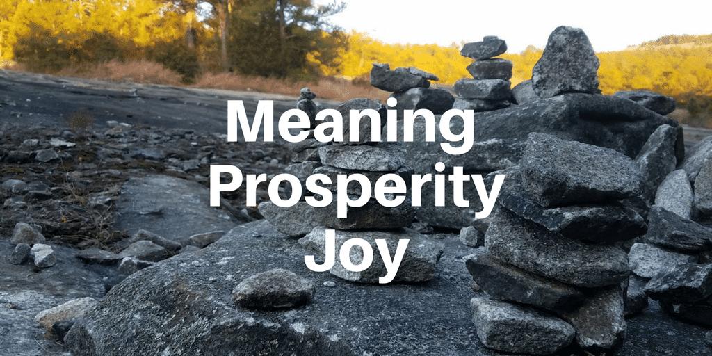 Servant Leadership Workplace-Meaning Prosperity Joy