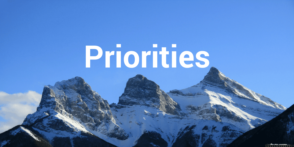 Servant Leadership Workplace-Priorities