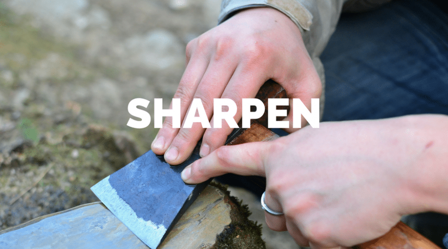 Servant Leadership Workplace-Sharpen Axe