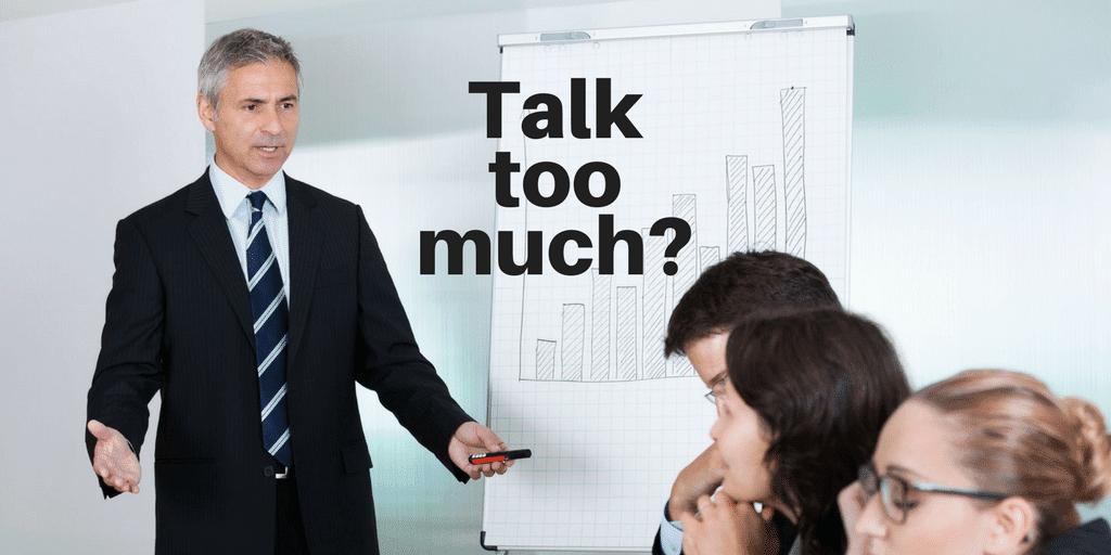 Servant Leadership Workplace-Talk Too Much