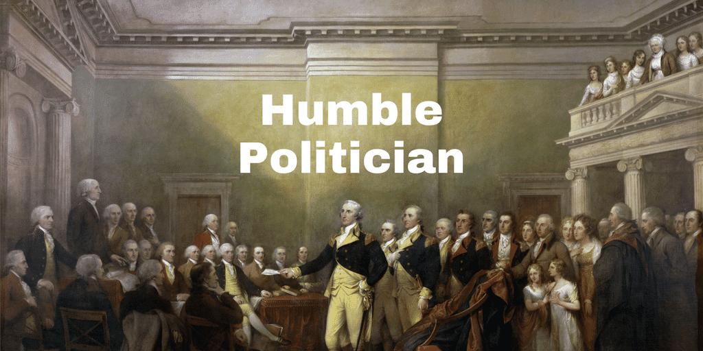 Servant Leadership Workplace-Humble Politician