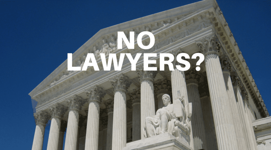 Work in a World Where Lawyers Aren't Necessary?