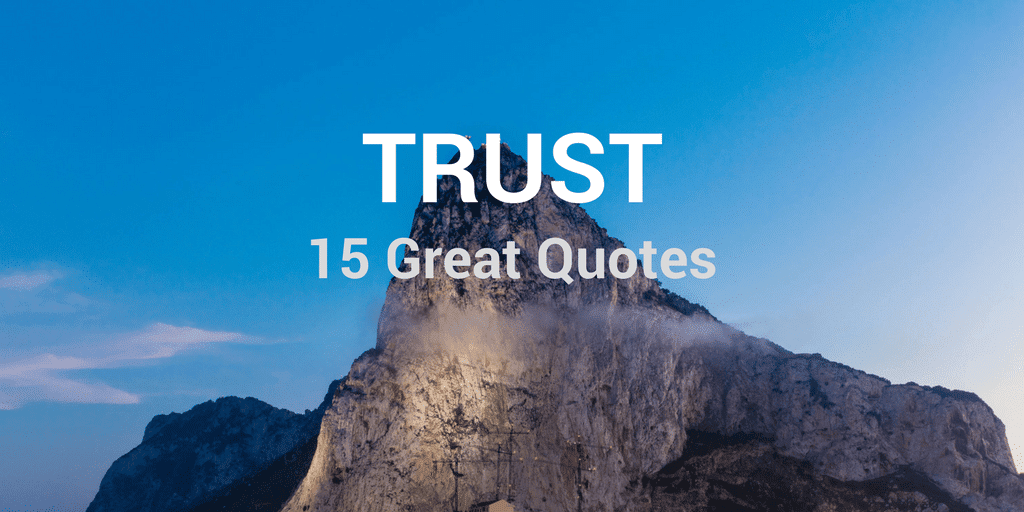 Servant Leadership Workplace-Trust Quotes