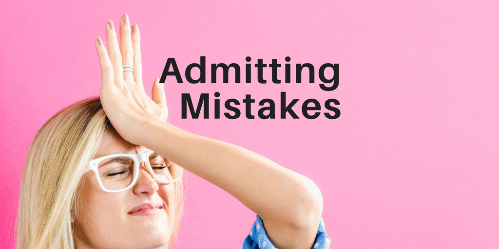 Servant Leadership Workplace-Admitting Mistakes