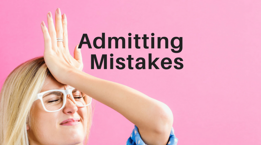 5 Reasons Admitting Mistakes Might Show You Are a Servant-Leader