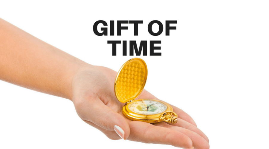 Servant-Leaders Give the Gift of Time