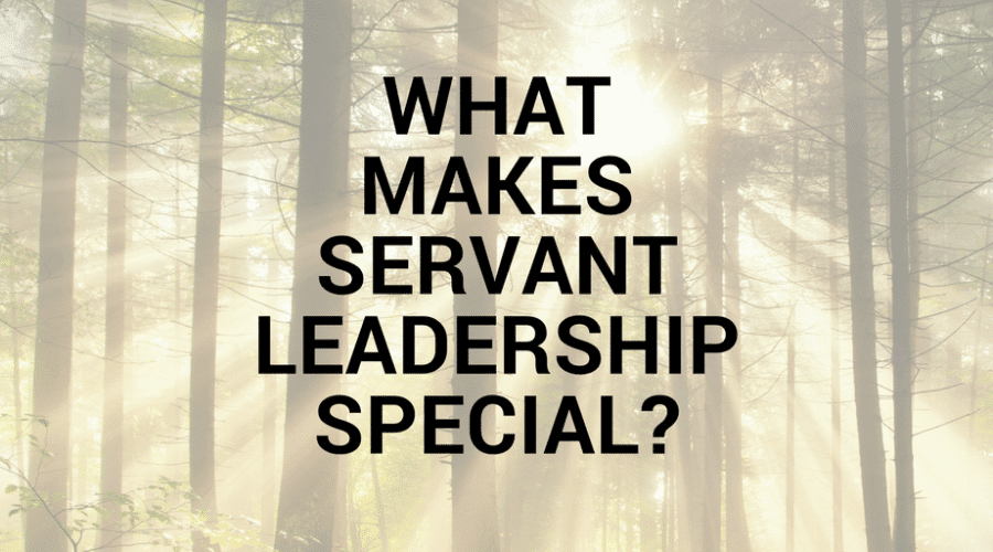 What Makes Servant Leadership Special?
