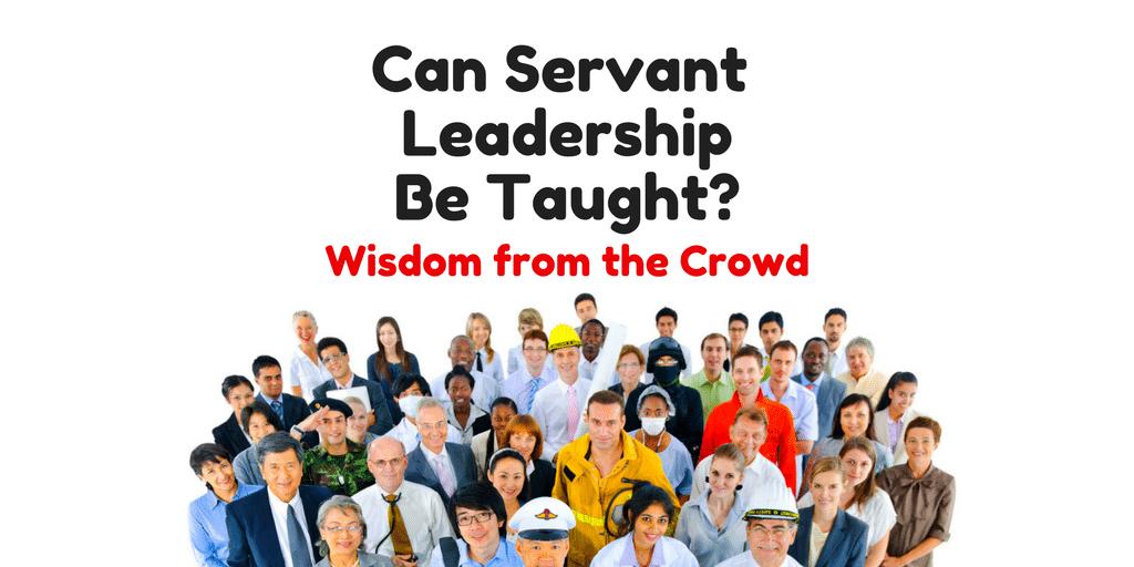 Servant Leadership Workplace-Crowd