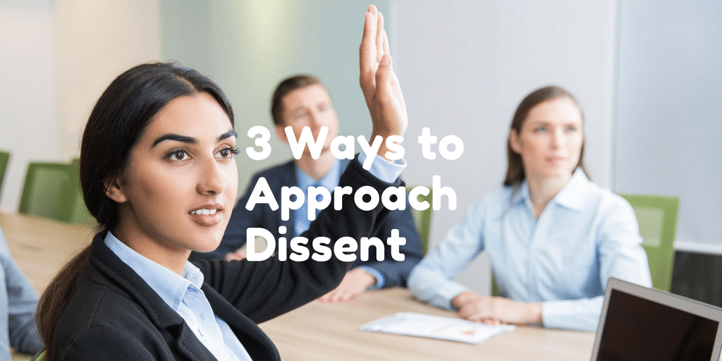 Servant Leadership Workplace-Dissent