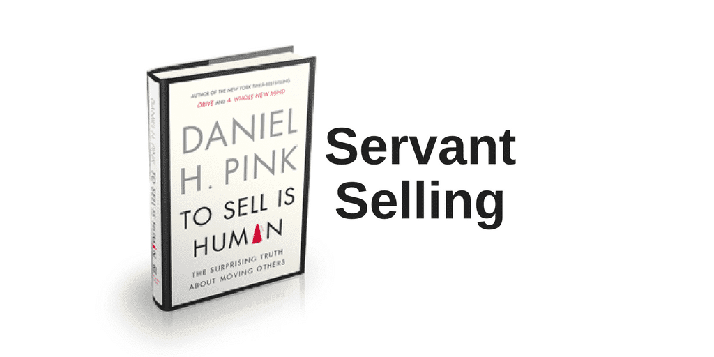 Servant Leadership Workplace-Servant Selling