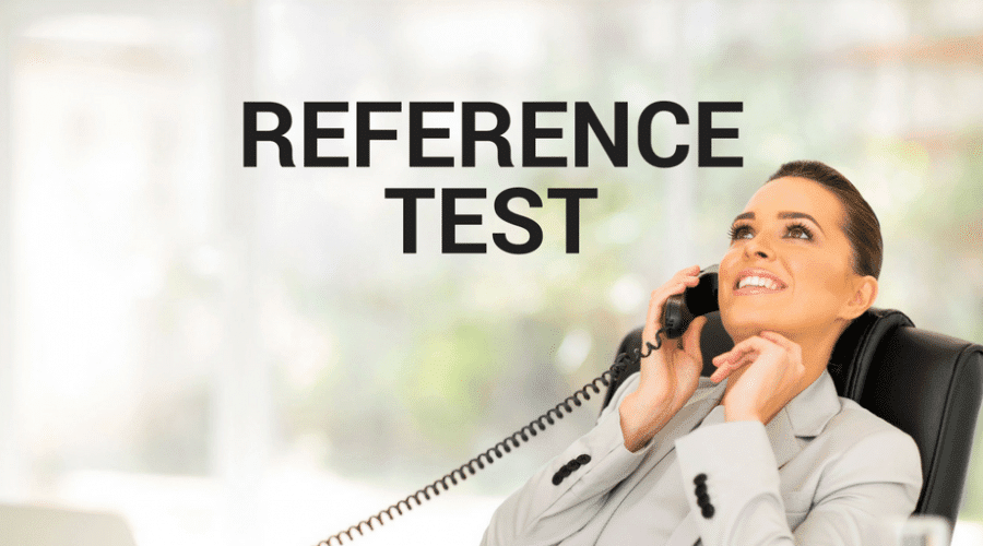 The Servant Leadership Reference Test