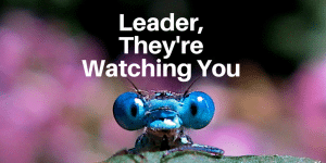 Servant Leadership Workplace-Watching You