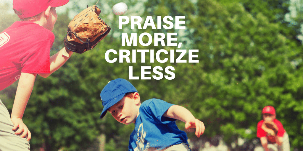 Servant Leadership Workplace-Praise More Criticize Less